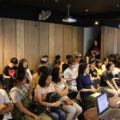 The employees of Taiwan Studio 5 gave a CG animation industrial lecture.